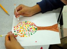 Inside The Classroom: Q-Tip Painting
