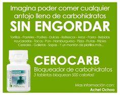 Nutrilite® Bloqueador de Carbohidratos 2. Bloquea hasta 500 calorías por cada comida alta en carbohidratos. te permite comer los alimentos que desees. To buy and learn www.amway.com/... or contact to me 786-357-4716
