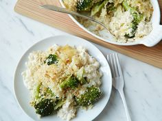 Broccoli and Orzo Casserole | Food Network Kitchens | The chefs in Food Network Kitchens use a favorite creamy cheese, Havarti, in this comforting casserole. The mild Danish cheese is widely available in different flavors — try dill or caraway for extra punch. #recipe