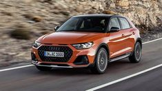 """Welcome to a lightly-crossovered Audi Called the 'citycarver' – yep, all lowercase – it's basically a normal with of extra ground clearance for """"easier entry and better visibility"""". Audi A1, New Audi R8, Audi All Models, Audi R8 Black, Audi Dealership, Automobile, Off Road, City Car, Sport Bikes"""