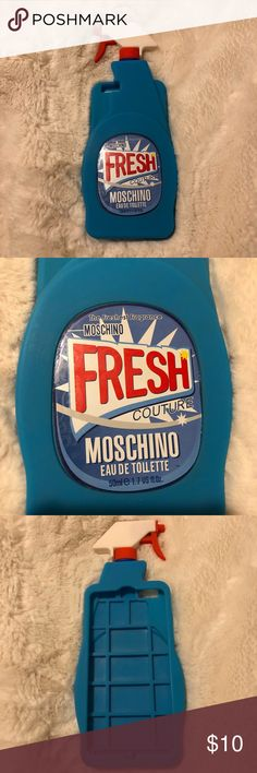 iPhone 6+ Moschino Spray Case Funny iPhone 6+ case by moschino Moschino Accessories Phone Cases