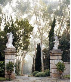 John Saladino's Montecito estate   Santa Barbara Living by Diane Dorrans Saeks