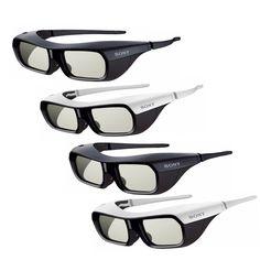 Sony - TDG-BR200/W - Trwałe, lekkie, małe okulary 3D zaktywną przesłoną izasilaniem akumulatorowym.     http://www.sony.pl/product/tpa-other-tv-accessories/tdg-br200-w