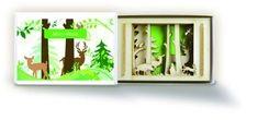 Mini-Wald in der Streichholzschachtel.