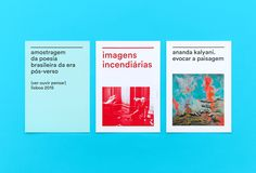 "Brand Identity for Belas-Artes Ulisboa by Tomás Gouveia ""The new visual identity is flexible, dynamic, adapted to the rhythm of a school closely linked to contemporary art and design. It is also timeless, versatile and transversal to all the..."