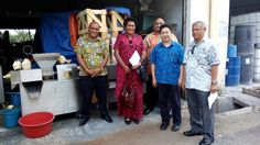 Visit by Fiji delegates. Coconut Machine, Making Machine, Fiji, Coconut Milk
