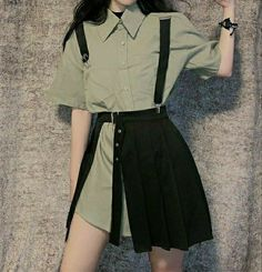 Fashion Tips Shoes .Fashion Tips Shoes Kpop Fashion Outfits, Edgy Outfits, Korean Outfits, Cute Casual Outfits, Pretty Outfits, Fashion Tips, Workwear Fashion, Fashion Edgy, European Fashion