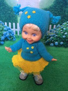 Веселенький, яркий и теплый наряд для Baby face (Фейсинки). / Одежда для кукол / Шопик. Продать купить куклу / Бэйбики. Куклы фото. Одежда для кукол