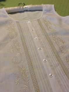 beautiful heirloom blouse