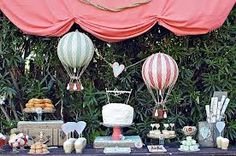 Steampunk ideas for decorating a dessert table
