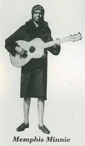 Memphis Minnie circa 1929