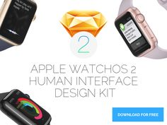 Apple Watchos 2 Human Interface Design Kit by Oliver's Creative Agency