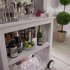 Wonderful Stock Your Holiday Bar. Home Bar DecorHome ...