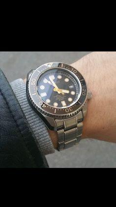 seiko diver SBDX017 Seiko Mechanical Watch, Seiko Marinemaster, Seiko Diver, Seiko Watches, Omega Watch, How To Find Out, Mens Fashion, Beautiful, Style