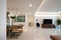 전주 신시가지 아이파크 아파트 인테리어 Apartment Interior, Apartment Design, Interior Design Living Room, Modern Interior, Living Room Designs, Style At Home, House Wall, Living Room Modern, Modern House Design