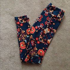 Lularoe one size leggings New! Never worn. China, these are navy LuLaRoe Pants Leggings