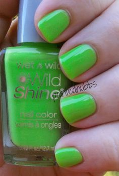 Painted Nubbs: WetnWild Stand the Test of Lime