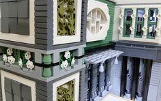 Brick Bank HQ Update Added some more walls and windows #lego #bulat #bulatlego #legostagram #brickcentral #bruneibricks #legocity #brickstagram #afol #legoarchitecture #legoafol #eurobricks #brickart #legoart #legomoc #legodisplay #brickshelf #worldofbricks #brickculture #brick_vision by bruneibricks