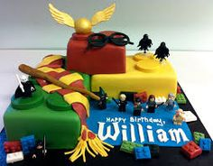 MegMade Cakes Williams Lego Harry Potter Cake