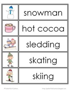 Free phonics letter of the week b vocabulary or word wall cards susan akins posted winter word wall words to their preschool items postboard via the juxtapost bookmarklet sciox Gallery