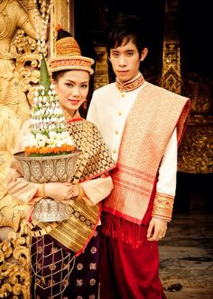 Lao traditional dress