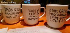 Procraftination!: Sharpie Mugs that ACTUALLY Work!!