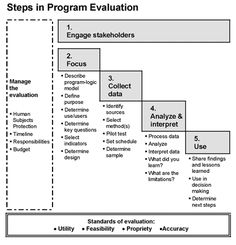 Steps in Program Evaluation