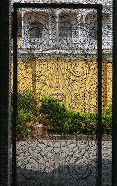 door at the Royal Palace in Phnom Penh