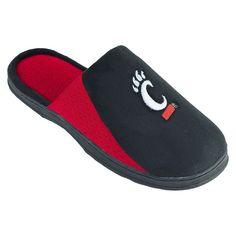 Men's Cincinnati Bearcats Scuff Slippers, Size: Medium, Black