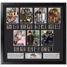 Wizard Of Oz 75th Anniversary Character Limited Edition 14 Film Cel Montage From Warner Bros.