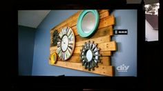 Just saw this on the DIY channel. I love it. Totally doing this soon.