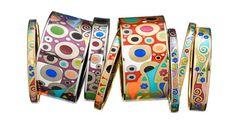 Frey Willie - Gustav Klimt bracelets #jewelry