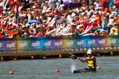 Going to take up canoe sprint. Mean as.
