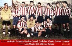 Foto Athletic club de Madrid 1931/32.