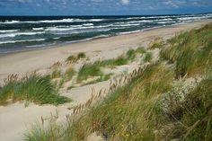 Krynica Morska beach in Poland (Baltic Sea) / Najpiękniejsze polskie plaże http://www.krynicamorska.pw