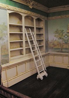 WOW,,,,The Orleans Study, a 1:12 scale room box by Ken Haseltine  by Ken@JBM, via Flickr.