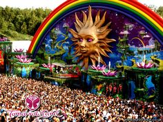 Tomorrowland | FINAL WEEKEND OF JULY | Is a large electronic music festival held in Belgium. Takes place in the town of Boom, Belgium