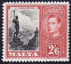 Malta 1938 King George VI SG 229 Fine Used Scott 203 Other Malta Stamps HERE: