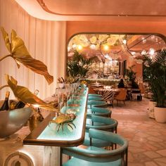 Commercial Design, Commercial Interiors, Hotel A Dubai, Architecture Restaurant, Restaurant Restaurant, Luxury Bar, Restaurant Interior Design, Bar Interior, Hospitality Design