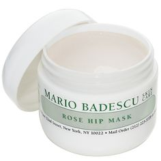2012 Whole Living Healthy Skin Awards Winner: Best for Purifying and Calming Skin: Light and soothing, the Mario Badescu Rose Hip Mask does its skin-sedating magic in just 15 minutes, Wholeliving.com