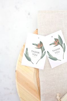 Looking for free printable thank you cards? These professionally designed thank you are cards are not only gorgeous, but also totally free! Thank You Tag Printable, Free Printable Tags, Thank You Tags, Thank You Gifts, Free Printables, Printable Paper, Party Printables, Wedding Costs, On Your Wedding Day
