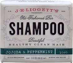 J.R.Liggett's Old-Fashioned Bar Shampoo™ Jojoba and Peppermint