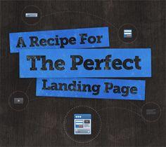 The Perfect #Landing #Page Recipe - #Optimization