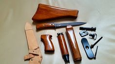 WTS : Vz 58, vz58, CZ858, CZ 858 Real wood furniture set with all hardware and bayonet