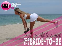 A Weight Loss #Wedding Diet For The #Bride-To-Be. Love the list of all the foods you can eat and the sample menu.