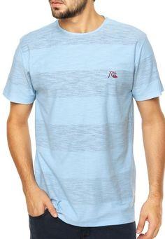 Camiseta Quiksilver Outsider Azul - Compre Agora  74b4f7614a4