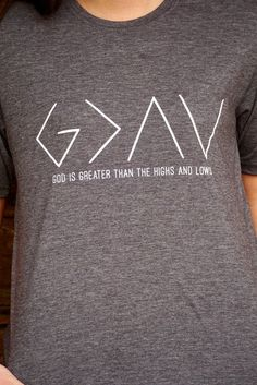 God is Greater Than the Highs and Lows by shoppixelandpearl