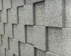 block wall fence - Google Search