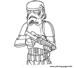 Easy Stormtrooper Star Wars Coloring Pages Printable And Book To Print For Free Find More Online Kids Adults Of