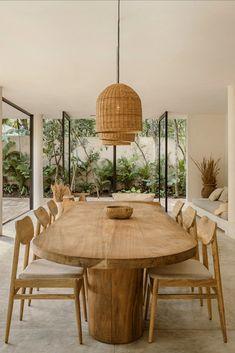 Home Interior, Interior Design Living Room, Interior Architecture, Living Room Decor, Biophilic Architecture, Interior Styling, Dining Room Inspiration, Home Decor Inspiration, Home And Living
